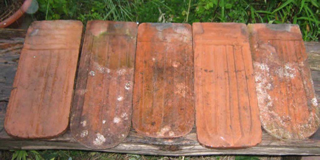 Antike Baustoffe Produkt Dachziegel