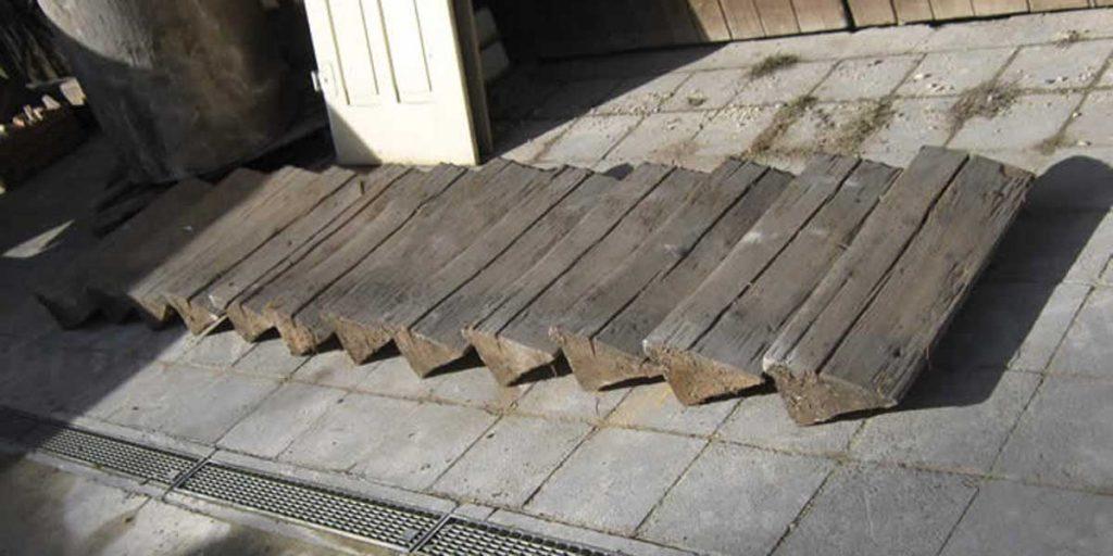 Antike Baustoffe Produkt Blockstufentreppe