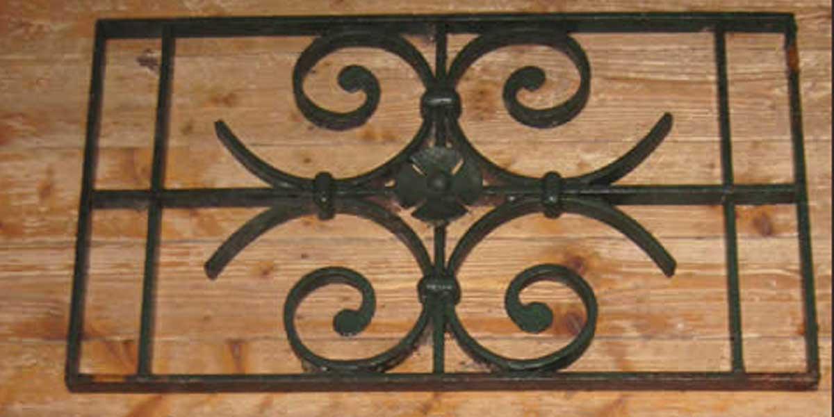 Antike Baustoffe Produkt Eisengitter