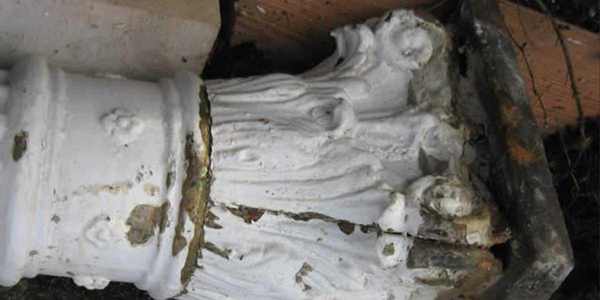 Antike Baustoffe Produkt Säule