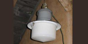 Antike Baustoffe Produkt Lampe