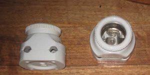 Antike Baustoffe Produkt Lampenfassungen