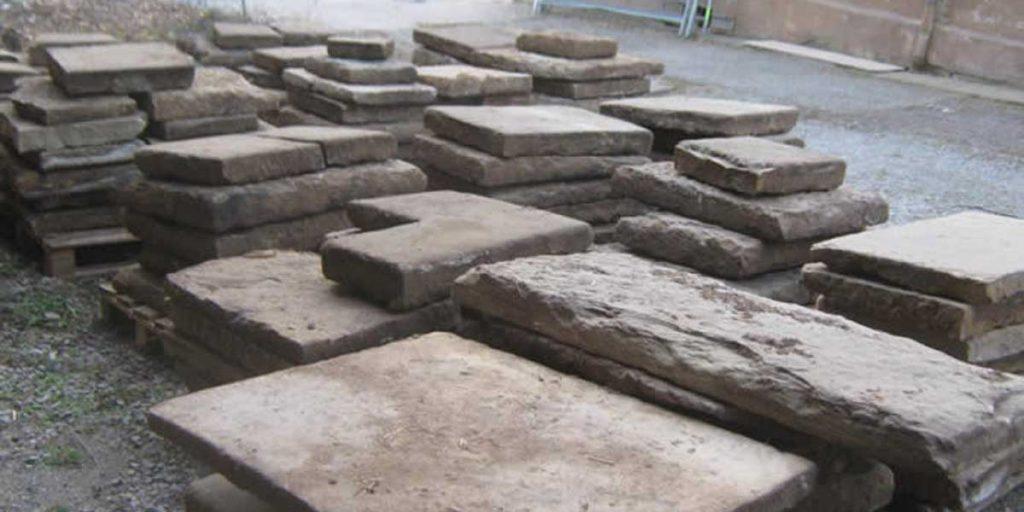 Antike Baustoffe Produkt Sandsteinplatten