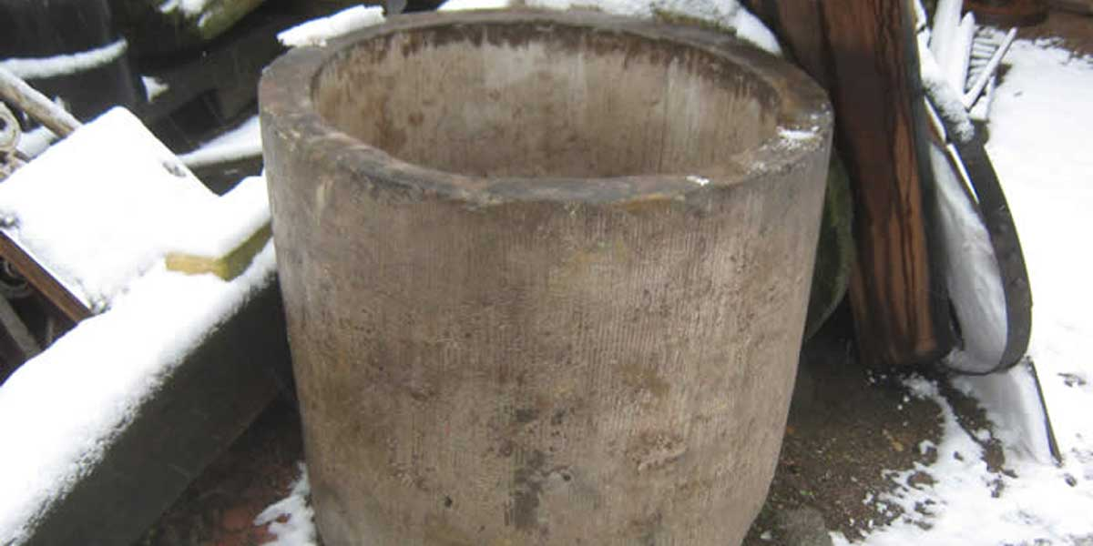 Antike Baustoffe Produkt Trog