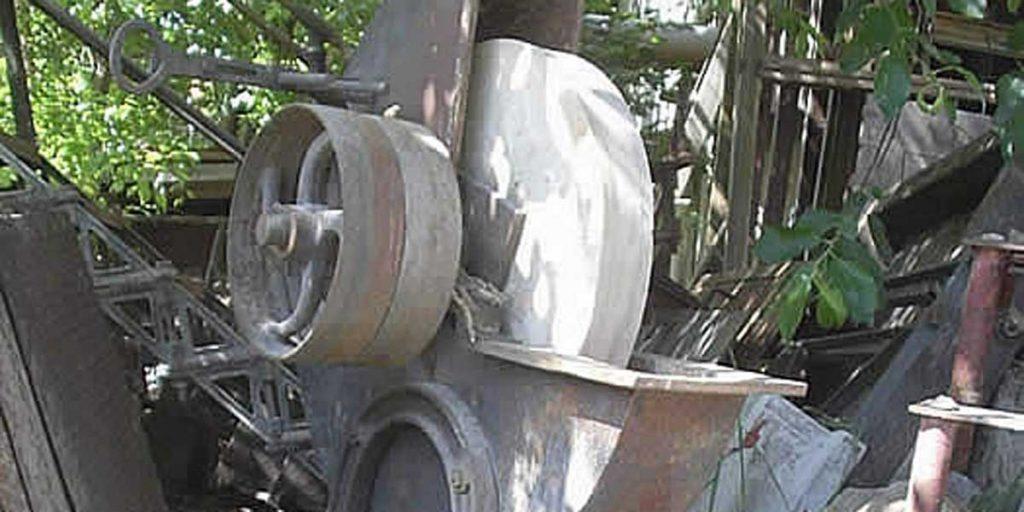 Antike Baustoffe Produkt Garten