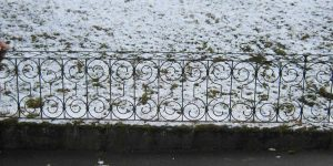 Antike Baustoffe Produkt Zaun